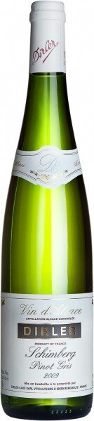 Вино Dirler-Cade, Schimberg Pinot Gris, Alsace AOC, 2009