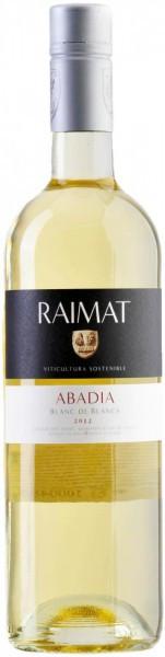 "Вино Raimat, ""Abadia"" Blanc de Blancs, Costers del Segre DO, 2012"