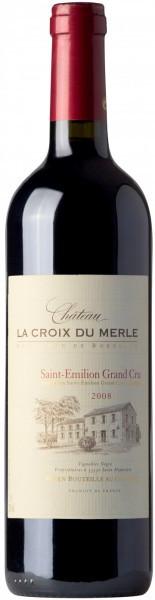 Вино Chateau La Croix du Merle, Saint-Emilion Grand Cru AOC, 2008