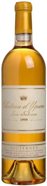 Вино Chateau d'Yquem, Sauternes AOC 1-er Grand Cru Superieur, 1999