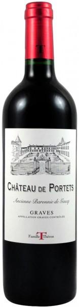 Вино Chateau de Portets, Graves Rouge AOC, 2014