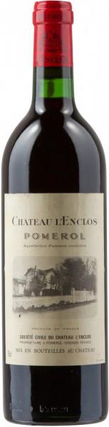 Вино Chateau l'Enclos, Pomerol AOC, 2004