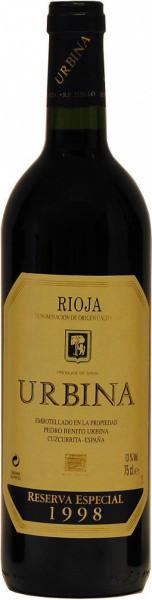 Вино Urbina, Reserva Especial, Rioja DOC, 1998
