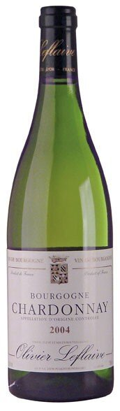 Вино Bourgogne AOC Chardonnay 2004