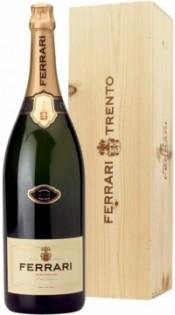 Игристое вино Ferrari, Brut, Trento DOC, gift box, 9