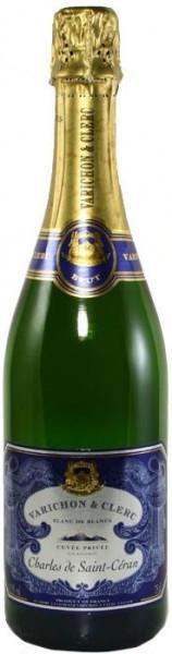 "Игристое вино Varichon & Clerc, ""Charles de Saint-Ceran"" Brut Blanc de Blancs, Cuvee Privee"