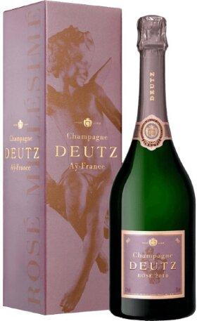 Шампанское Deutz, Brut Rose, 2010, gift box