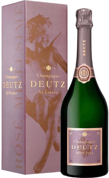 Шампанское Deutz, Brut Rose, 2010, gift box