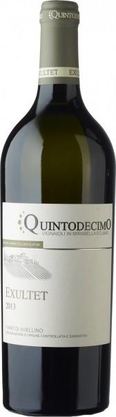 """Вино Quintodecimo, """"Exultet"""" Fiano di Avellino DOCG, 2013"""