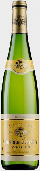 "Вино Gustave Lorentz, Riesling ""Reserve"", Alsace AOC, 2015"