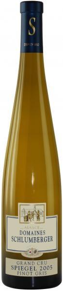 Вино Schlumberger, Pinot Gris Grand Cru Spiegel Le Miroir, Alsace AOC, 2005