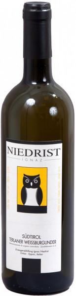 """Вино Niedrist, """"Terlaner"""" Weissburgunder, Sudtirol DOC, 2010"""