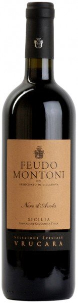 """Вино Feudo Montoni, """"Vrucara"""" Nero d'Avola, 2010"""