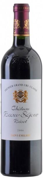 Вино Chateau Beau-Sejour Becot Saint-Emilion AOC Premier Grand Cru Classe B 2006