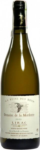 "Вино Domaine de la Mordoree, ""La Reine des Bois"", Lirac AOC, 2003"