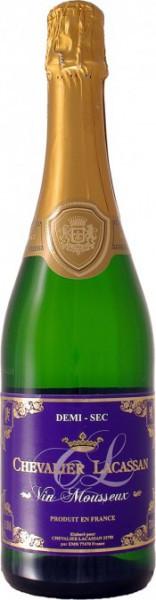Игристое вино Chevalier Lacassan Vins Mousseux Demi-Sec