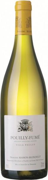 "Вино Domaine Masson-Blondelet, Pouilly Fume ""Villa Paulus"", 2009"
