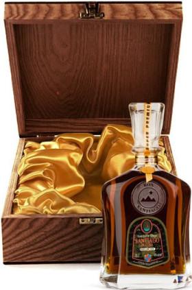 """Ром Santiago de Cuba, """"Extra Anejo"""", 25 years old, wooden box, 0.7 л"""