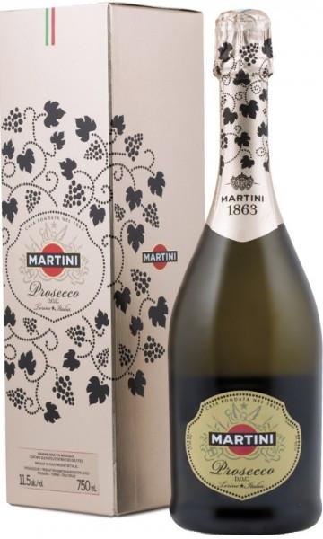 Игристое вино Martini Prosecco DOC, gift box