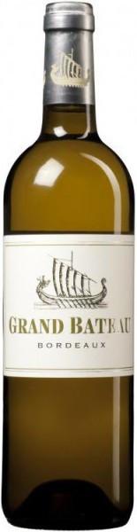 """Вино """"Grand Bateau"""" Blanc, Bordeaux AOC, 2015"""