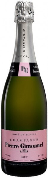 "Шампанское Pierre Gimonnet & Fils, ""Rose de Blancs"" Brut 1er Cru, Champagne AOC"