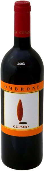 "Вино Cupano, ""Ombrone"", Sant'Antimo DOC, 2005"