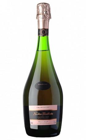 Шампанское Nicolas FeuillatteBrut Rose Cuvee 225 2008 0.75л