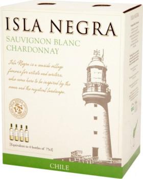Вино Isla Negra, Sauvignon Blanc-Chardonnay, 2013, 3 л