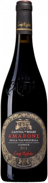 """Вино Luigi Righetti, """"Capitel De Roari"""" Amarone della Valpolicella Classico DOCG, 2012"""