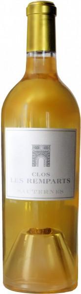 Вино Chateau les Remparts, Clos les Remparts, Sauternes, 2009