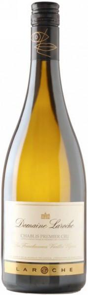 """Вино Domaine Laroche, Chablis 1-er Cru """"Les Fourchaumes"""" Vieilles Vignes, 2008, 0.375 л"""