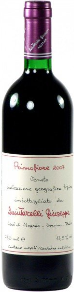 "Вино Quintarelli Giuseppe, ""Primofiore"", 2007"