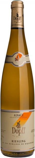 Вино Dopff au Moulin, Riesling de Riquewihr, Alsace AOC, 2012, 0.375 л