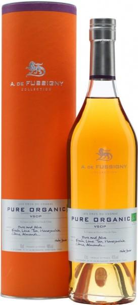 Коньяк A. de Fussigny, Pure Organic VSOP, gift tube, 0.7 л