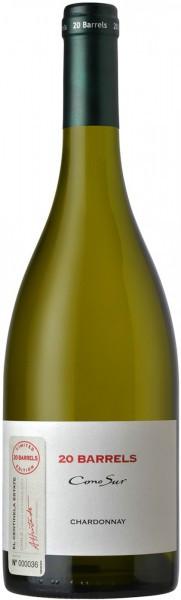 """Вино Cono Sur, """"20 Barrels"""" Chardonnay, Limited Edition, Casablanca Valley DO"""