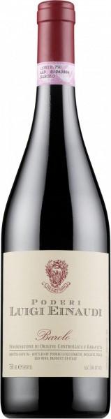 Вино Poderi Luigi Einaudi, Barolo, 1998