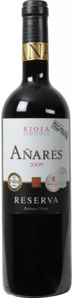 "Вино Bodegas Olarra, ""Anares"" Reserva, Rioja DOCa, 2009"