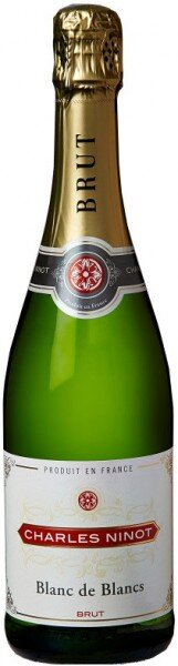 """Игристое вино """"Charles Ninot"""" Blanc de Blancs Brut"""