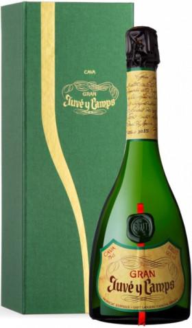 "Игристое вино Juve y Camps, Cava ""Gran"", 2011, gift box"