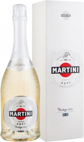 Игристое вино Martini, Asti Vintage DOCG, 2016, gift box