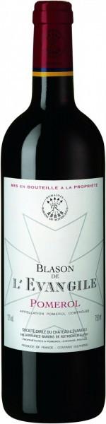"""Вино """"Blason de l'Evangile"""", Pomerol AOC, 2011"""