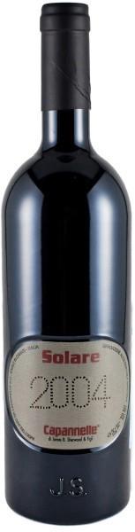 """Вино """"Solare"""", Vino da Tavola di Toscana Rosso IGT Sangiovese, 2004, 0.375 л"""