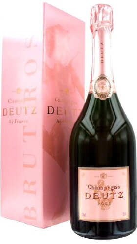 Шампанское Deutz, Brut Rose, gift box, 1.5 л