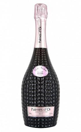 Шампанское Nicolas FeuillattePalmes d'Or Brut Rose 2006 0.75л