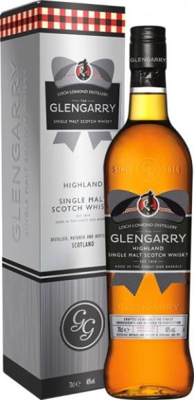 """Виски """"Glengarry"""" Single Malt, gift box, 0.7 л"""