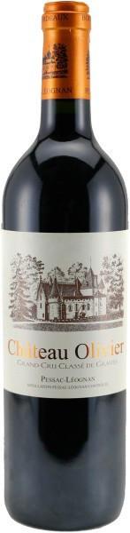 Вино Chateau Olivier Rouge, Grand Cru Classe de Graves Pessac-Leognan AOC, 2005