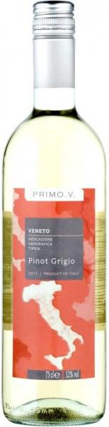"""Вино """"Primo V"""" Pinot Grigio, Veneto IGT"""