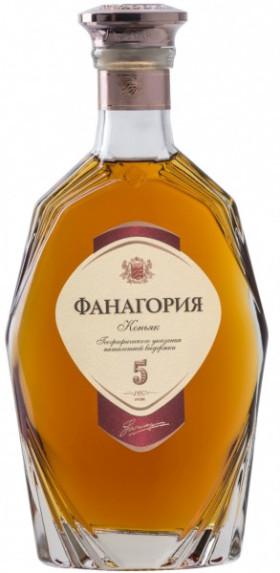 "Коньяк ""Fanagoria"" 5 Years Old, 0.1 л"