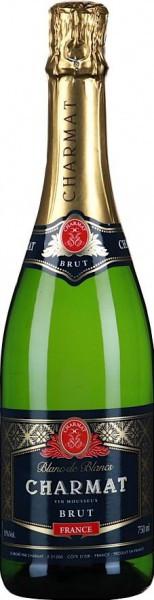 """Игристое вино """"Charmat"""" Blanc de Blancs Brut"""