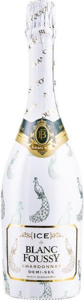 """Игристое вино """"Ice by Blanc Foussy"""" Chardonnay"""